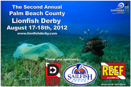 2nd Annual Palm Beach County Lionfish Derby